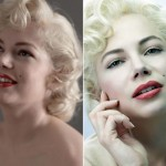 A maquiagem de Michelle Williams no filme Sete Dias com Marilyn