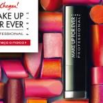 Make Up For Ever está à venda no Brasil na Sack's/Sephora!