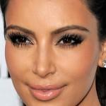 10 maquiagens com sombra marrom da Kim Kardashian