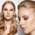 Maquiagem neutra e romântica para editorial