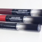 A linha de batons Aqua Rouge da Make Up For Ever