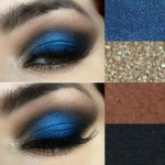 Tutorial - arabian nights com sombra azul e dourada