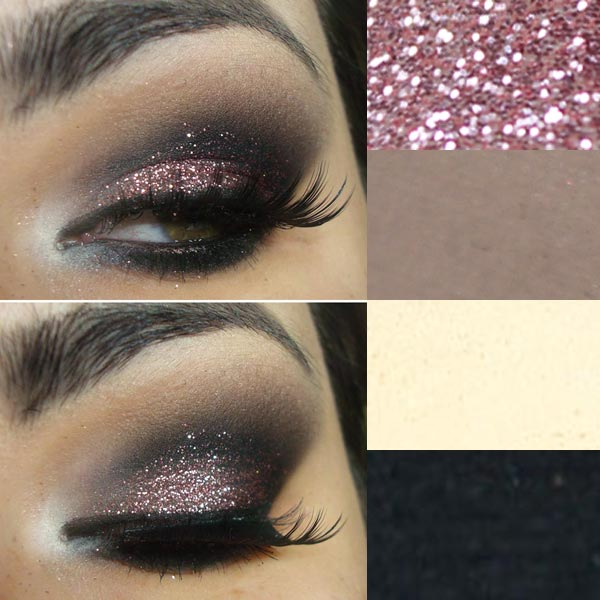 glitter-pink-make
