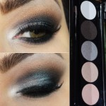 Maquiagem de festa com a palette de sombras Party Time da  Smart Makeup Anasuil
