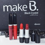 Batom e Brilho Labial Light Rouge e Dark Rouge da Make B