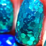 Unhas de Sereia - Glitter Placement por Melissa Menezes