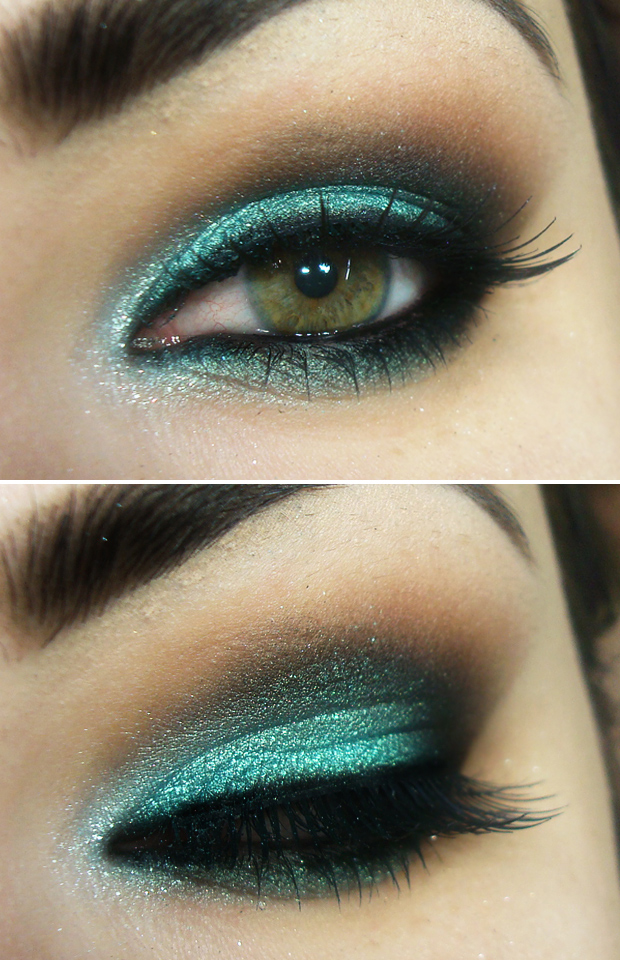 The shadow of Diamond Turquoise Make Up For Ever