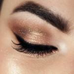 Tutorial - maquiagem ouro rosa para o Réveillon