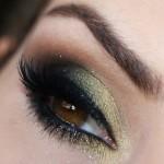 Tutorial - maquiagem dourada para o Natal por Claudia Guillen