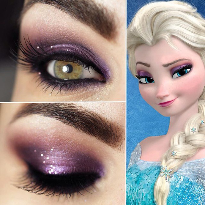 frozen-makeup