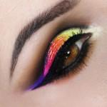Tutorial - maquiagem com fusão de cores