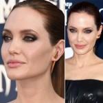 As maquiagens da Angelina Jolie na divulgação de Malévola