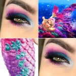 Tutorial - Makeup inspirada na Barbie Sereia com a Electric Palette