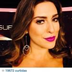 Heroine: o batom roxo da Fernanda Paes Leme