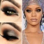 Tutorial - maquiagem inspirada na Rihanna
