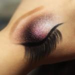 Croquis de maquiagem na mão
