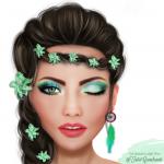 5 maquiagens de sereia