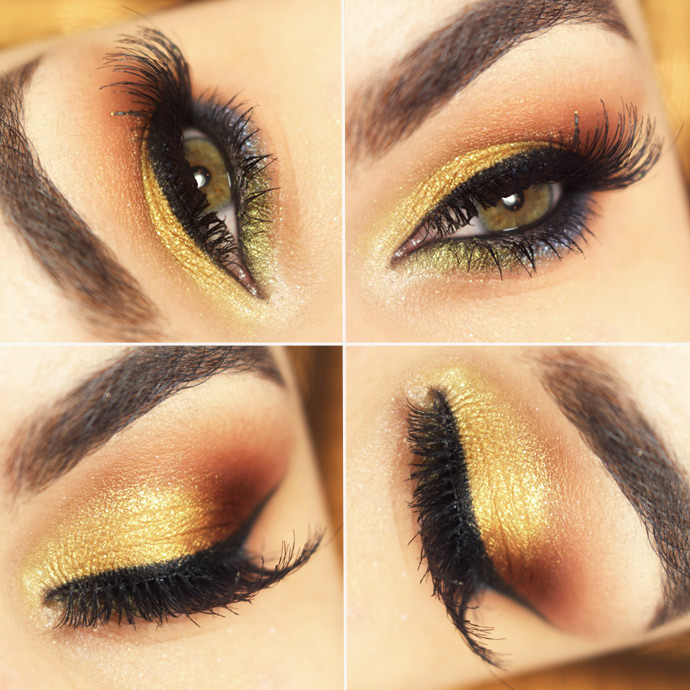 Tutorial ? maquiagem com o Baked Eye Trio Field Day da Mary Kay