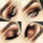 Sombra cobre maravilhosa da Make Up For Ever