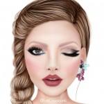 5 maquiagens com o batom Bela