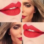 O batom vermelho da Fernanda Lima em Superstar