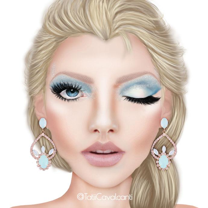 makeup-elsa
