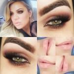 Tutorial - makeup Khloe Kardashian com apenas 1 sombra