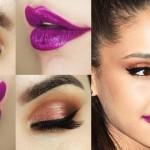 Tutorial - maquiagem com delineado retrô inspirada na Ariana Grande