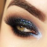 Glitter bafônico da Carol Andrade Makeup