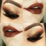 Tutorial - maquiagem com olho esfumado na diagonal