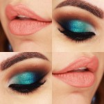 Tutorial - maquiagem com degradê de cores sereia e cut crease
