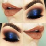 Tutorial - maquiagem azul poderosa