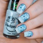 Tutorial - Unhas inspiradas na Elsa de Frozen