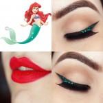 Tutorial - maquiagem inspirada na Ariel