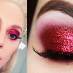 Makeup Tutorial Lady Gaga Super Bowl - Maquiagem Vermelha