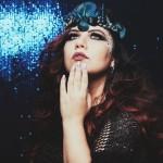 Um dia de sereia: coroa, esmaltes Pausa para Feminices e mais!