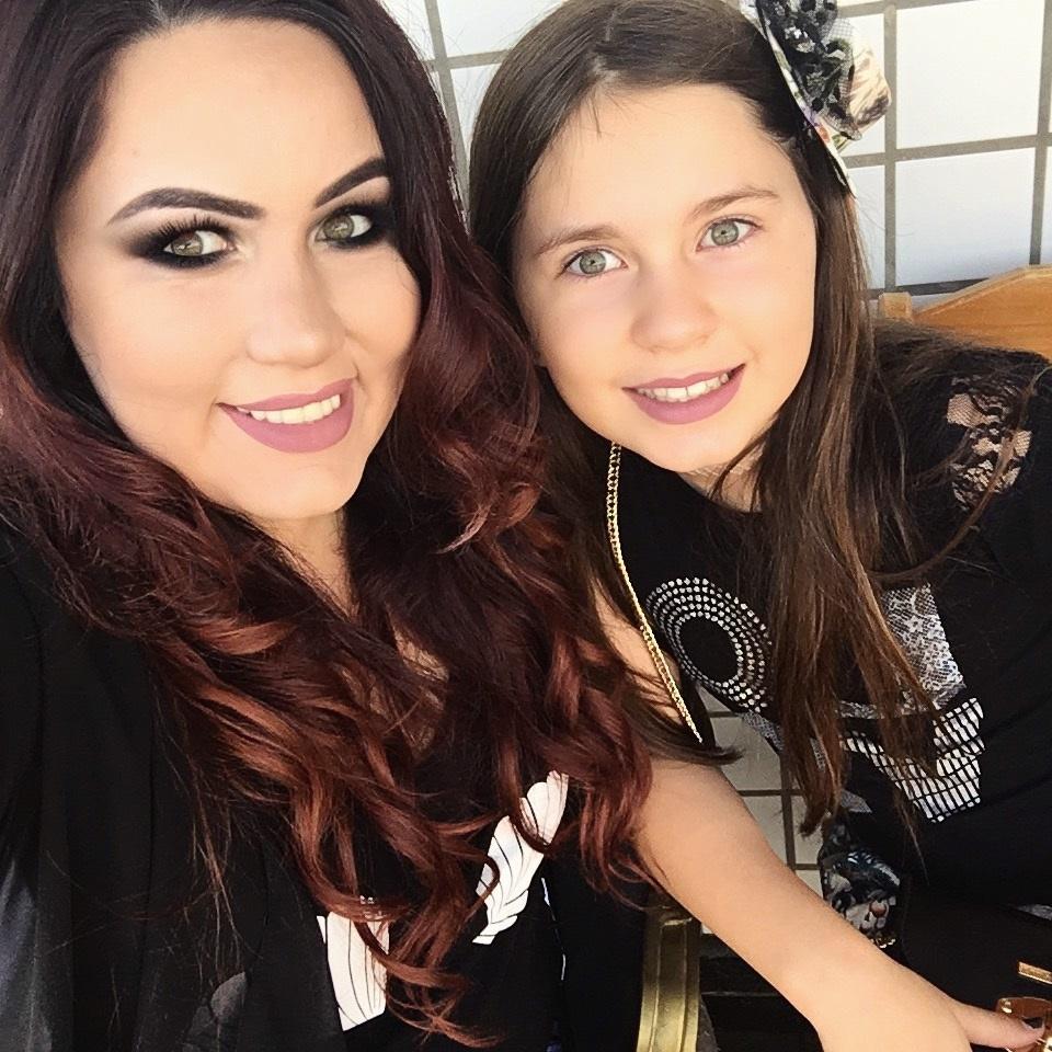 Eu e minha filha! Tesouro e cura <3