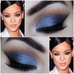 Tutorial - maquiagem diferentona da Rihanna