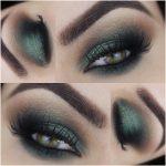 Tutorial - smokey eyes verde com sombra holográfica