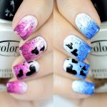 Tutorial Nail Art Arlequina para Halloween