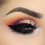 Tutorial Cut Crease Com Glitter