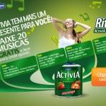 Muito mais ritmo com Activia Danone