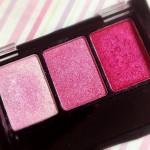 Trio de sombras rosa e pink da Fenzza