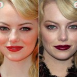 As maquiagens de Emma Stone nos eventos do filme The Amazing Spider-Man