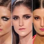 As maquiagem do desfile da Make B coleção Miami Sunset