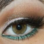 Passo a Passo: sereia chique com sombra perolada, turquesa e delineado