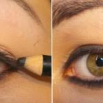 Passo a Passo - maquiagem cat eyes para aumentar os olhos!