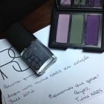 Trio de sombras e esmalte da coleção Fall 2012 da NARS