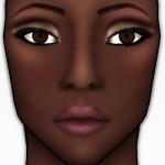Face Charts - 5 maquiagens para pele negra