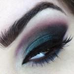 Maquiagem divina da Evelyn Conversani com a sombra Luar no Oceano